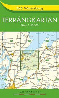 bokomslag 565 Vänersborg Terrängkartan : 1:50000
