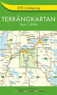 570 Linköping Terrängkartan : 1:50000