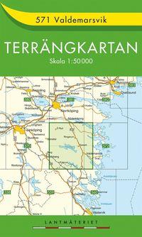 bokomslag 571 Valdemarsvik Terrängkartan : 1:50000