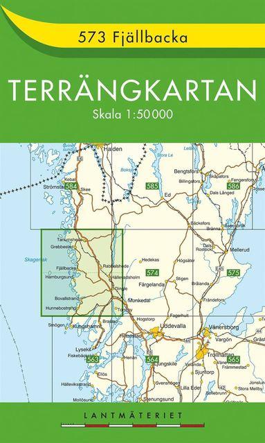 bokomslag 573 Fjällbacka Terrängkartan : 1:50000