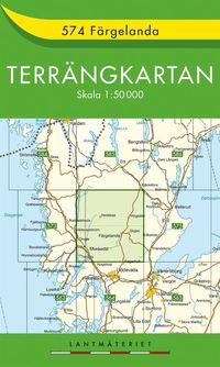 bokomslag 574 Färgelanda Terrängkartan : 1:50000