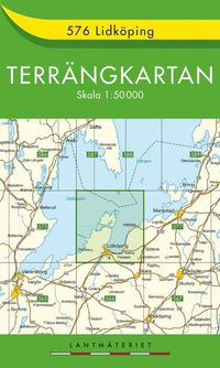 576 Lidköping Terrängkartan : 1:50000