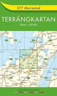 bokomslag 577 Mariestad Terrängkartan : 1:50000