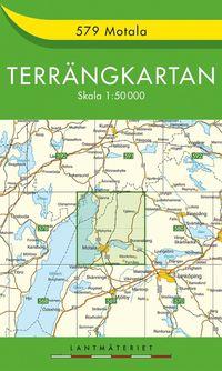bokomslag 579 Motala Terrängkartan : 1:50000
