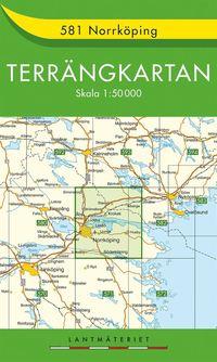 bokomslag 581 Norrköping Terrängkartan : 1:50000