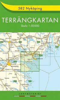bokomslag 582 Nyköping Terrängkartan : 1:50000