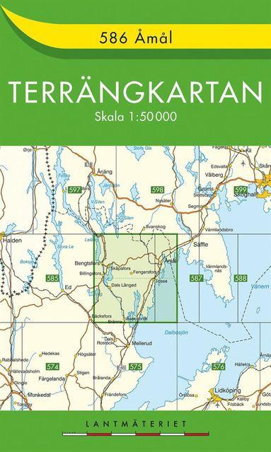 bokomslag 586 Åmål Terrängkartan : 1:50000