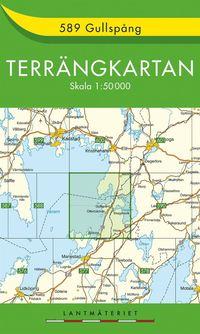 bokomslag 589 Gullspång Terrängkartan