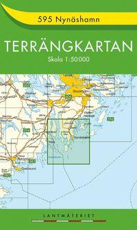 bokomslag 595 Nynäshamn Terrängkartan : 1:50000
