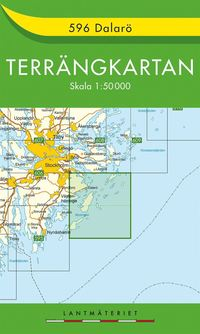 596 Dalarö Terrängkartan : 1:50000