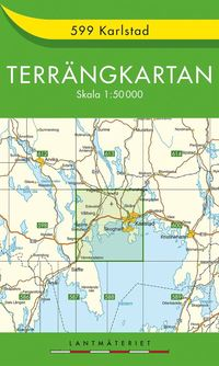 bokomslag 599 Karlstad Terrängkartan : 1:50000