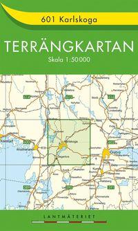 bokomslag 601 Karlskoga Terrängkartan : 1:50000