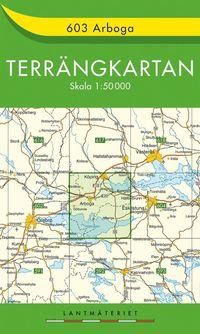 603 Arboga Terrängkartan : 1:50000