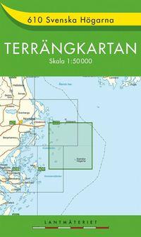 610 Svenska Högarna Terrängkartan : 1:50000
