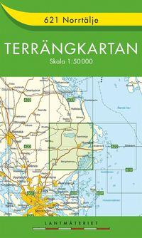 bokomslag 621 Norrtälje Terrängkartan : 1:50000