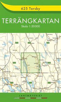 bokomslag 625 Torsby Terrängkartan : 1:50000
