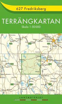 bokomslag 627 Fredriksberg Terrängkartan : 1:50000