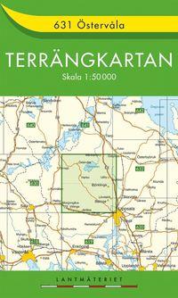 bokomslag 631 Östervåla Terrängkartan : 1:50000