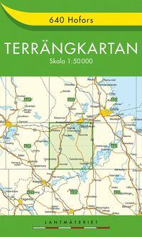 640 Hofors Terrängkartan : 1:50000