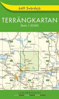 bokomslag 649 Svärdsjö Terrängkartan : 1:50000