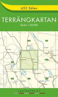 bokomslag 653 Sälen Terrängkartan : 1:50000