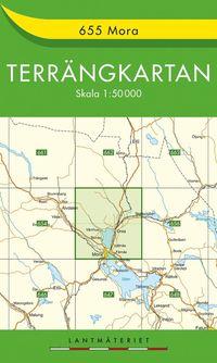 655 Mora Terrängkartan : 1:50000