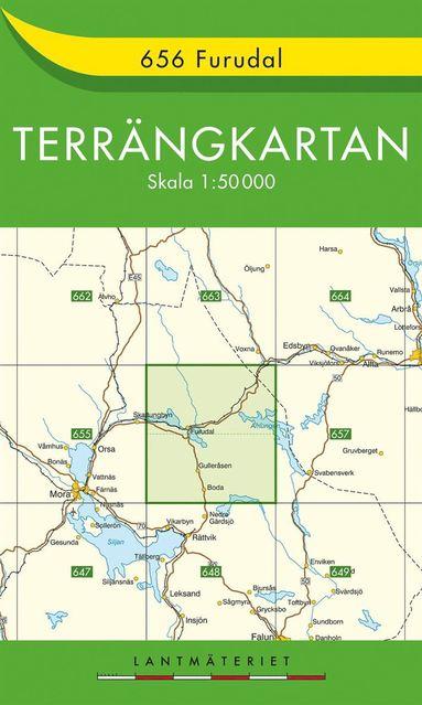bokomslag 656 Furudal Terrängkartan