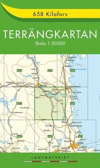 bokomslag 658 Kilafors Terrängkartan : 1:50000