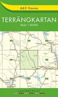 663 Voxna Terrängkartan