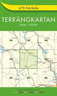 670 Kårböle Terrängkartan