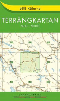 688 Kälarne Terrängkartan