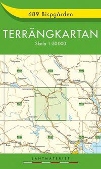 689 Bispgården Terrängkartan : 1:50000