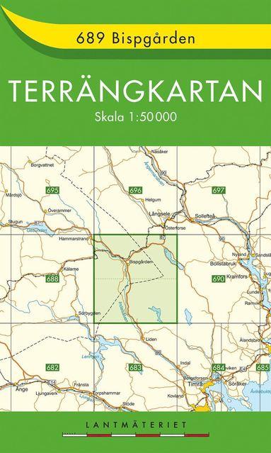 bokomslag 689 Bispgården Terrängkartan : 1:50000