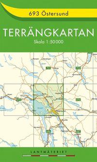 bokomslag 693 Östersund Terrängkartan : 1:50000
