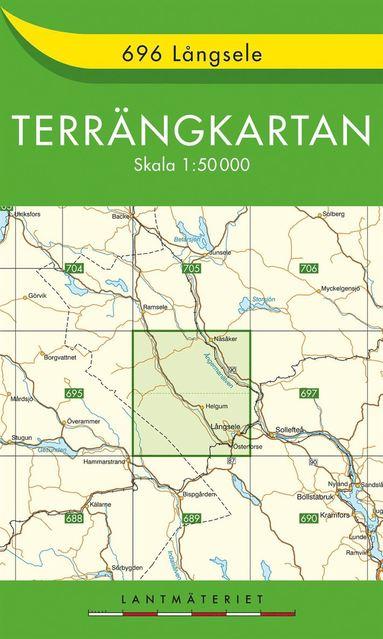 bokomslag 696 Långsele Terrängkartan : 1:50000