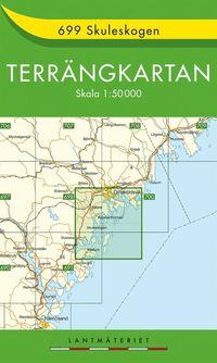 699 Skuleskogen Terrängkartan : 1:50000