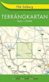 706 Solberg Terrängkartan