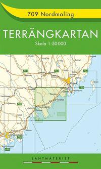 709 Nordmaling Terrängkartan : 1:50000