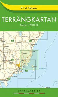 bokomslag 714 Sävar Terrängkartan : 1:50000
