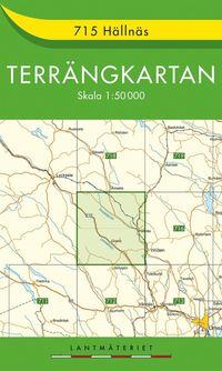 bokomslag 715 Hällnäs Terrängkartan : 1:50000
