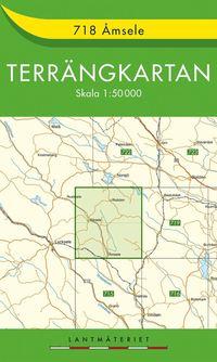 718 Åmsele Terrängkartan : 1:50000