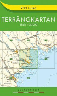 733 Luleå Terrängkartan : 1:50000