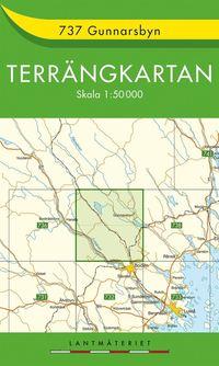 bokomslag 737 Gunnarsbyn Terrängkartan : 1:50000