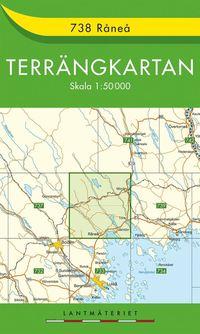 bokomslag 738 Råneå Terrängkartan : 1:50000