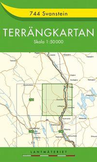bokomslag 744 Svanstein Terrängkartan : 1:50000