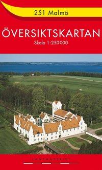 251 Malmö Översiktskartan : 1:250000