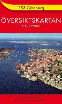 bokomslag 253 Göteborg Översiktskartan : 1:250000