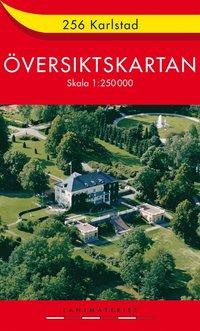 bokomslag 256 Karlstad Översiktskartan : 1:250000