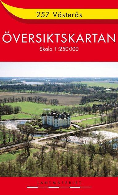 bokomslag 257 Västerås Översiktskartan