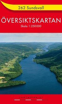 262 sundsvall Översiktskartan : 1:250000